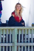"Kelly Rohrbach | On the Set of ""Baywatch"" on Tybee Island 