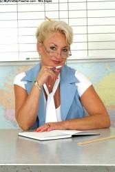 My first sex teacher mrs hayes