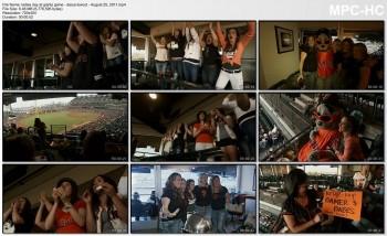Darya Folsom - ladies day at Giants game - August 25, 2011
