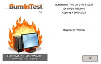 PassMark BurnInTest Pro 8.1 Build 1013