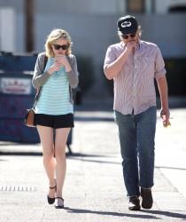 Kirsten Dunst - Out in Studio City 3/26/16