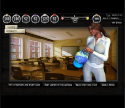 OUTCAST ACADEMY NAUGHTY GIRLS SIM – LESSON OF PASSION