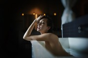 Alexia Fast -                    2016 TJ Scott Photoshoot In The Tub.