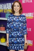 Ellie Kemper -         ''Unbreakable Kimmy Schmidt'' Season 2 Premiere New York City March 30th 2016 With Tina Fey.