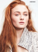Sophie Turner -               Marie Claire Magazine (UK) May 2016.