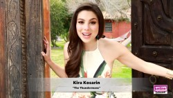 Kira Kosarin in Justine magazine BTS x59 plus video link