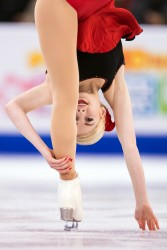 Gracie Gold at ISU World Figure Skating Championships in Boston 3/31/2016 x18