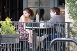 Stefanie Scott at Alfred Coffee in West Hollywood x14