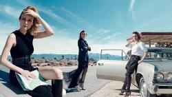Diane Kruger, Emilia Clarke, Milla Jovovich, Scarlett Johansson, Stana Katic (Wallpapers) 6x