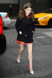 Anna Kendrick - Arriving at 'Good Morning America' in NYC 4/7/16