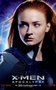Sophie Turner - X-Men: Apocalypse Jean Grey Character Poster
