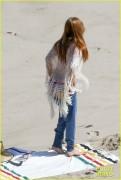 Lana Del Rey - At the beach in Malibu 4/5/16