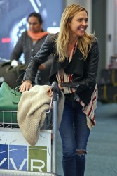 Arielle Kebbel at Vancouver Airport x9