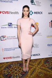 Emmy Rossum - Entertainment Industry Foundation Presents Stand Up to Cancer's New York Standing Room Only Event 4/9/16